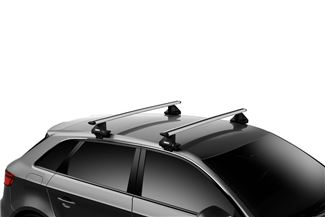Thule Evo Clamp on Vehicle