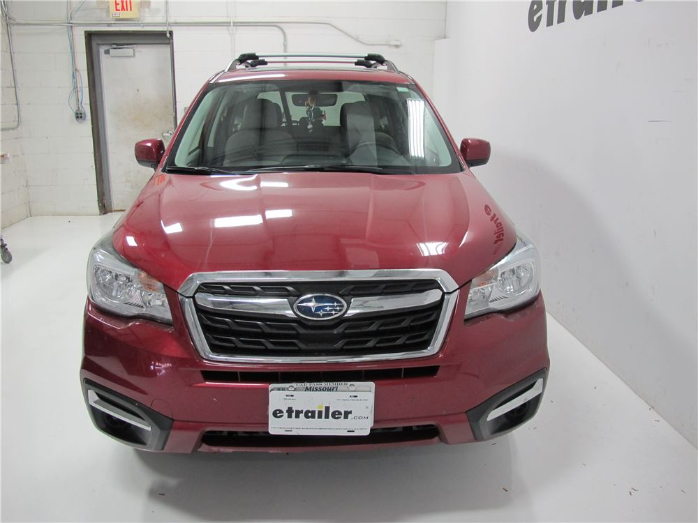 Subaru Forester Thule Aeroblade Edge Roof Rack For Raised