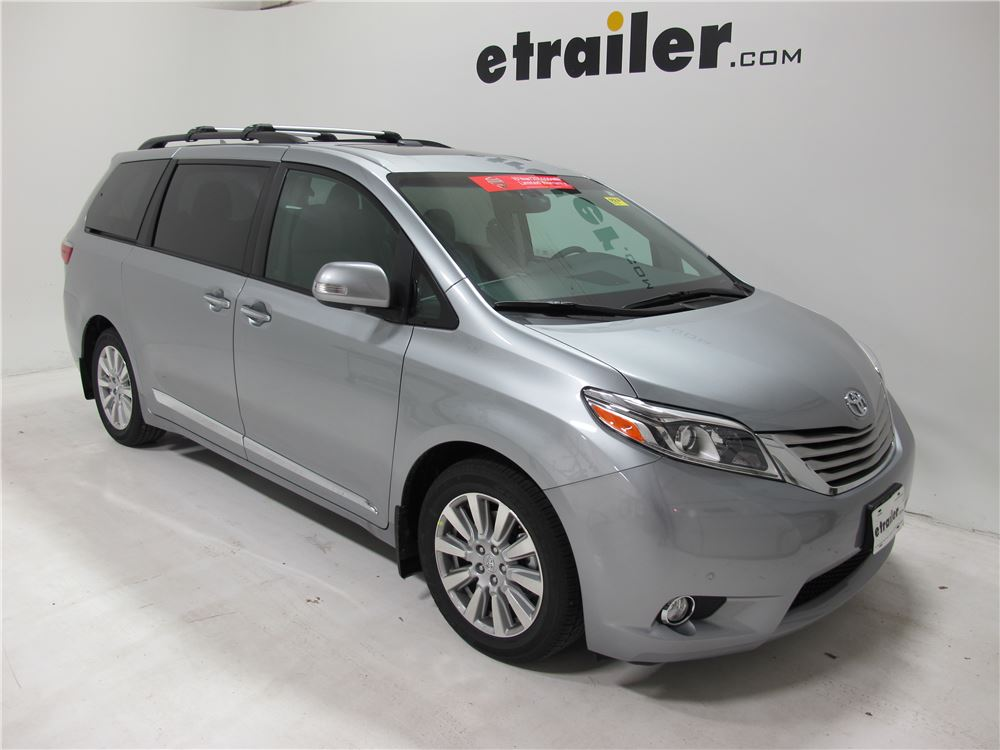 2015 Chrysler Town And Country Thule Aeroblade Edge Roof