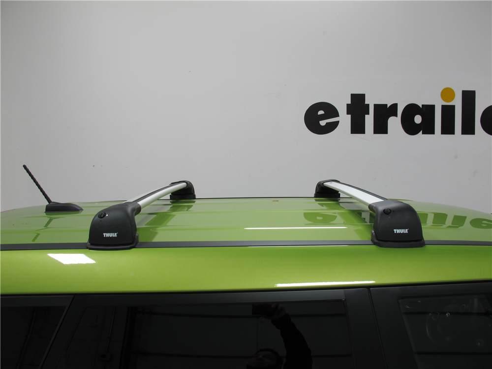 Thule Roof Rack For 2016 Kia Soul Etrailer Com