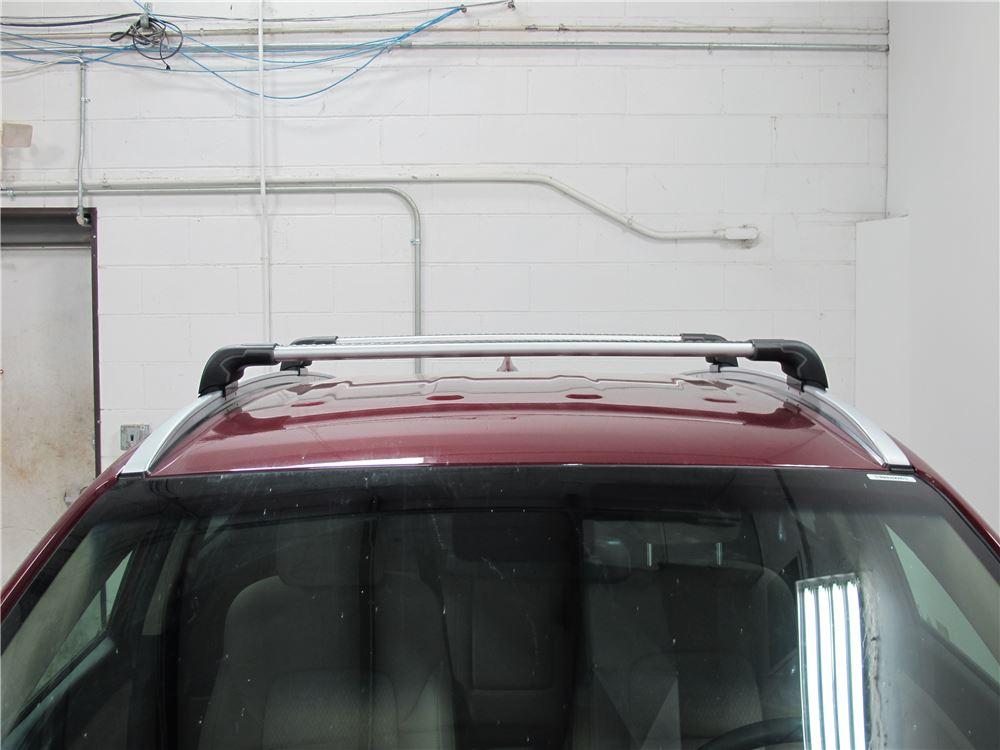 2006 Hyundai Tucson Thule Aeroblade Edge Roof Rack Fixed