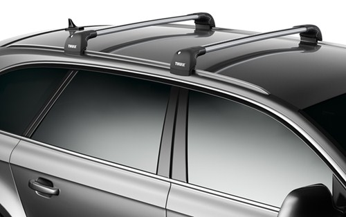 Thule Aeroblade Edge Roof Rack Fixed Mounting Points Flush Factory Side Rails Aluminum