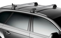 Thule Aeroblade Edge Roof Rack Fixed Mounting Points Flush Factory Side Rails