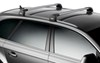 Thule AeroBlade Edge Roof Rack - Fixed Mounting Points/Flush, Factory Side Rails - Aluminum - Silver