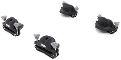 Thule Portage Canoe Carrier w/ Tie-Downs - Gunwale Brackets - Side Loading