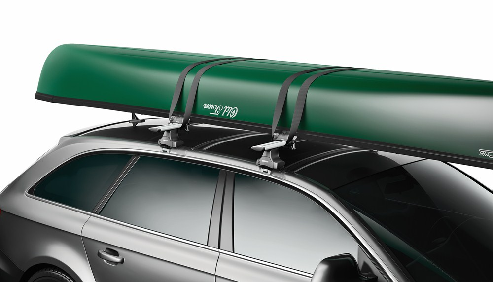 Subaru Outback Wagon Thule Portage Canoe Carrier W Tie