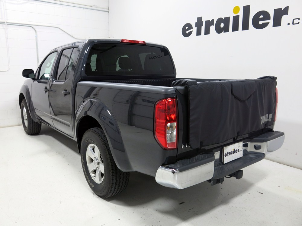 2013 nissan frontier thule gate mate tailgate pad and bike. Black Bedroom Furniture Sets. Home Design Ideas