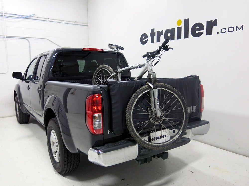 2013 Nissan Frontier Thule Gate Mate Tailgate Pad and Bike ...