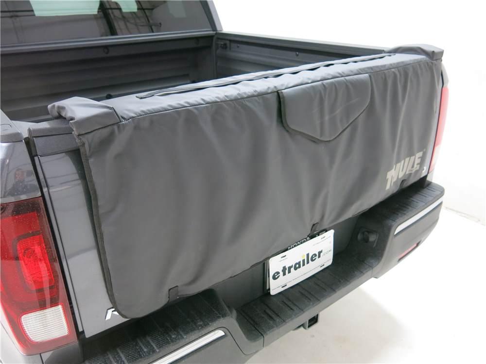 "Honda Ridgeline Thule Gate Mate Tailgate Pad and Bike Rack for Compact Trucks - 54"" Wide"