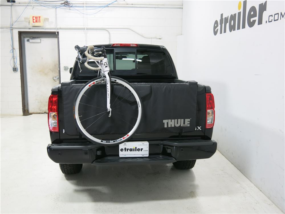 2015 Nissan Frontier Thule Gate Mate Tailgate Pad and Bike ...