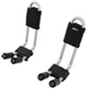Thule Hull-A-Port Kayak Carrier w/Tie-Downs - J-Style - Fixed - Side Loading