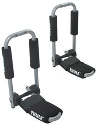 Thule Hull-A-Port Pro Kayak Carrier w/Tie-Downs - J-Style - Folding - Side Loading