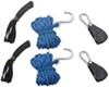 Thule Quick Draw Tie-Down Ropes w/ Ratchets and Strap Loops - 13' - Qty 2