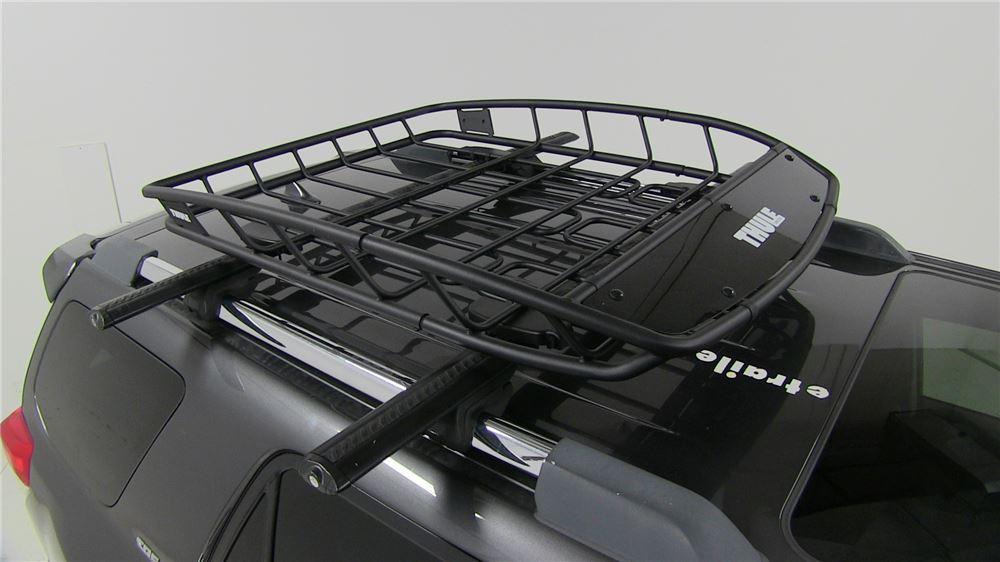 "Dodge Dart Aero >> Thule Canyon XT Roof Cargo Basket - Steel - 49"" x 40"" x 6 ..."