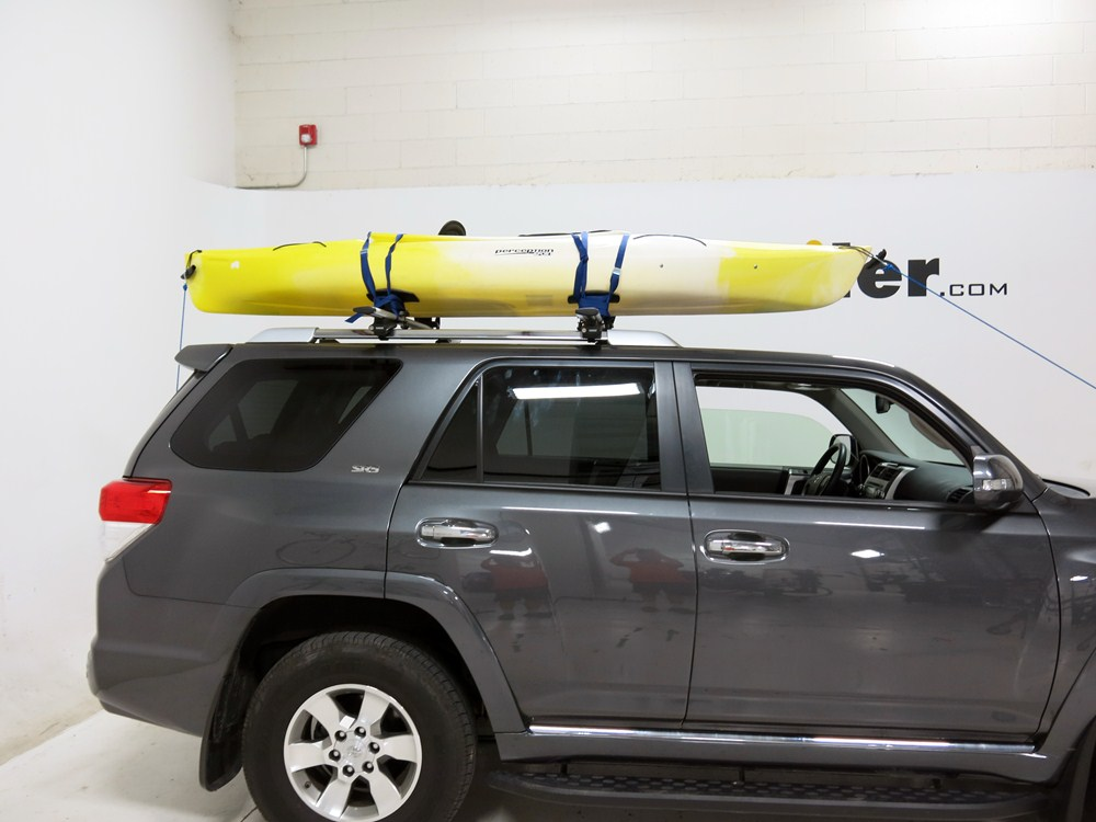 GMC Canyon Thule Top Deck Rooftop Kayak Carrier System with Tie Downs