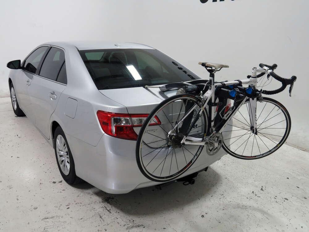 2014 Toyota Camry Thule Raceway Pro 2 Bike Rack Trunk