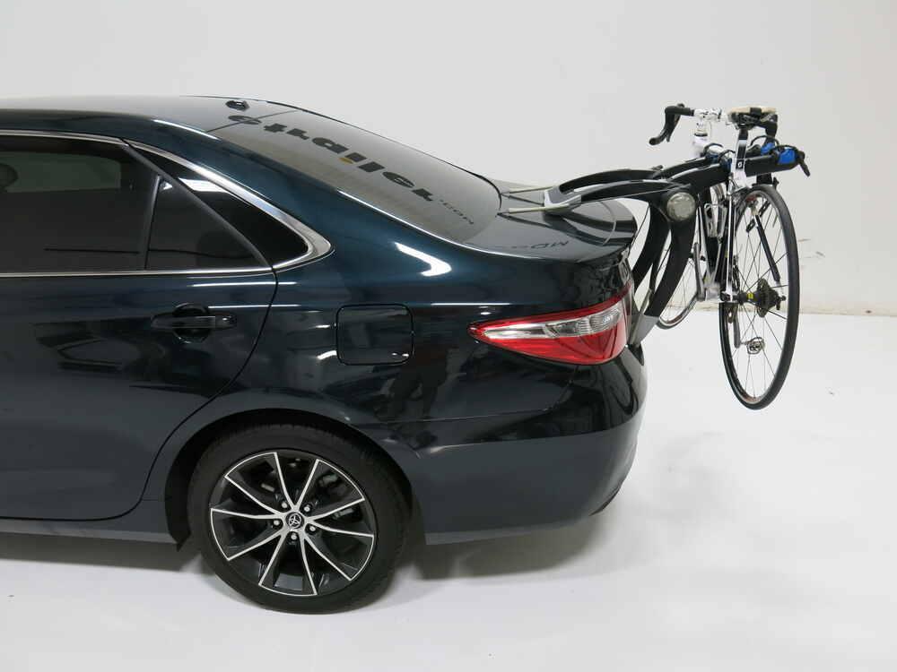 2017 Toyota Camry Thule Raceway Pro 2 Bike Rack Trunk