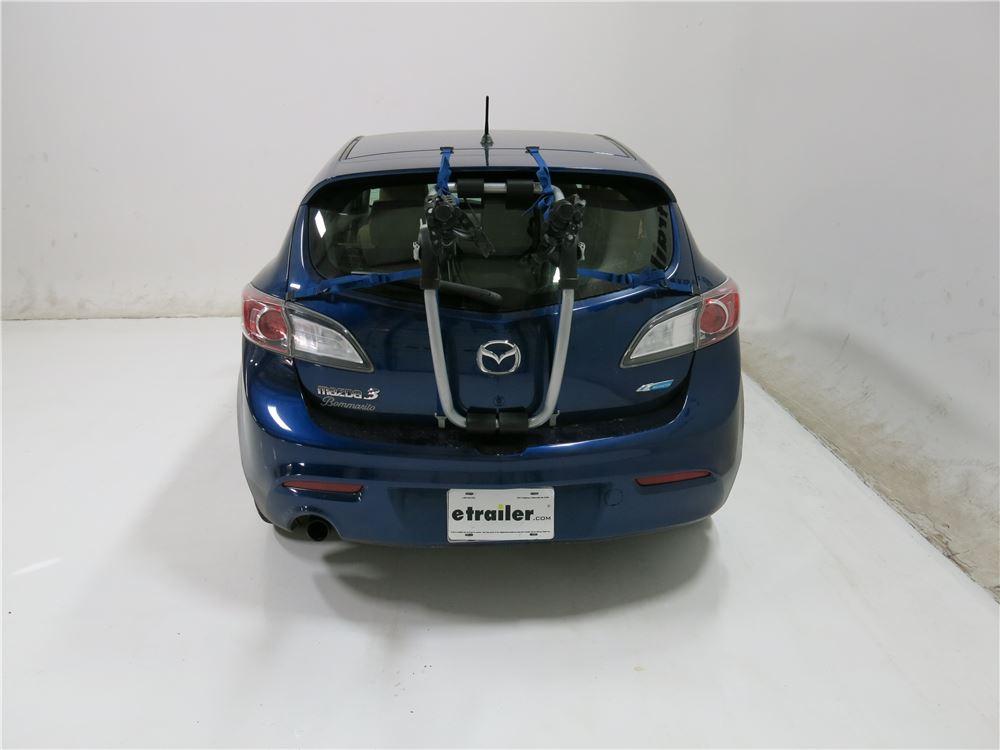 2012 Mazda 3 Thule Gateway Xt 2 Bike Rack Trunk Mount