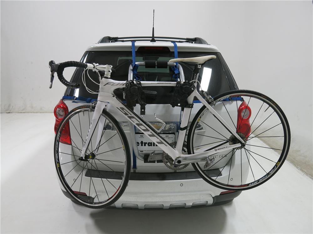 thule bike rack instructions trunk