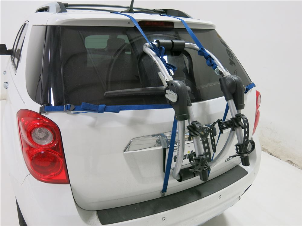thule bike rack instructions trunk