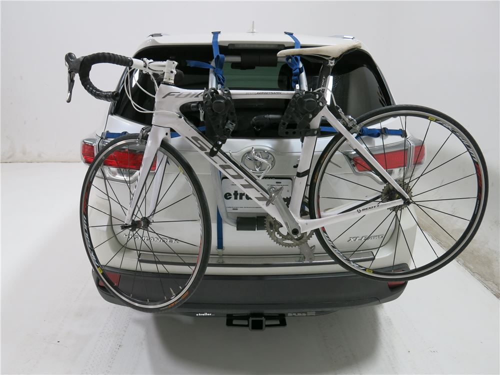 Buick Encore Bike Rack >> 2007 Toyota Highlander Thule Gateway XT 2-Bike Rack - Trunk Mount - Adjustable Arms