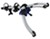thule trunk bike racks frame mount - anti-sway fits most factory spoilers gateway xt 2-bike rack adjustable arms
