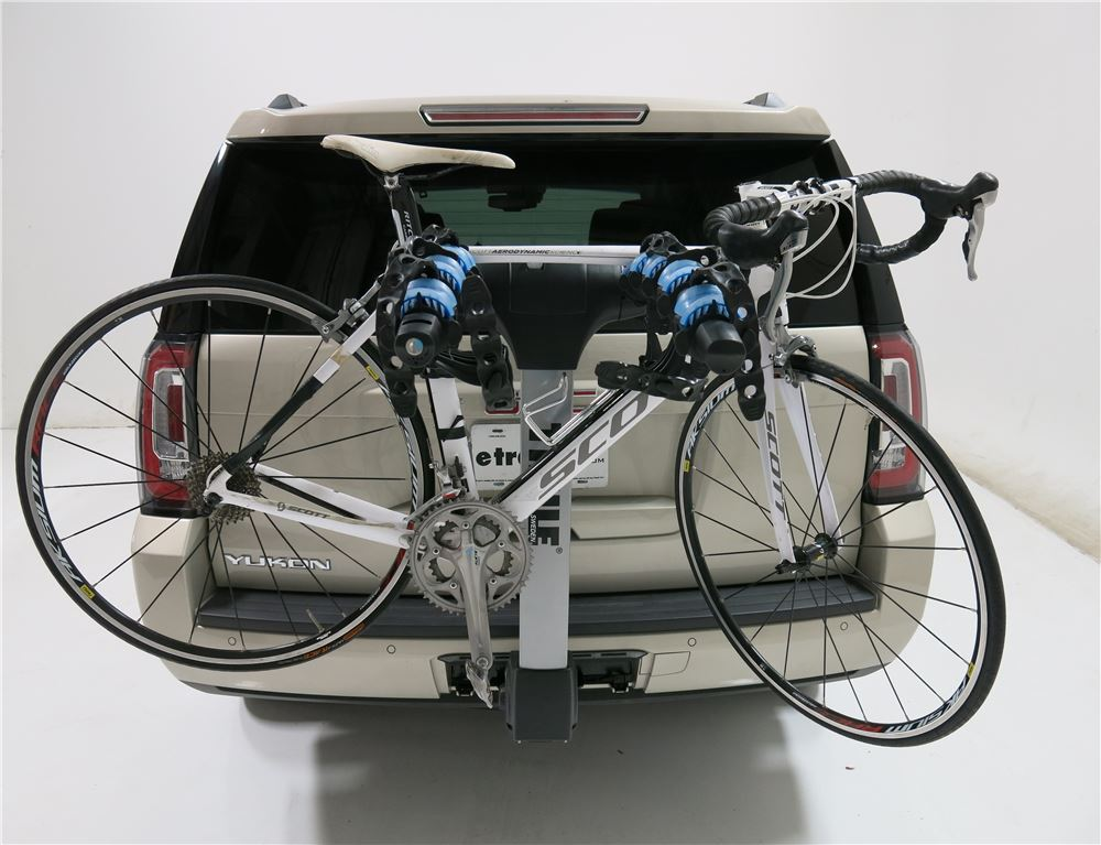 thule apex 5 bike rack for 2 hitches tilting thule. Black Bedroom Furniture Sets. Home Design Ideas