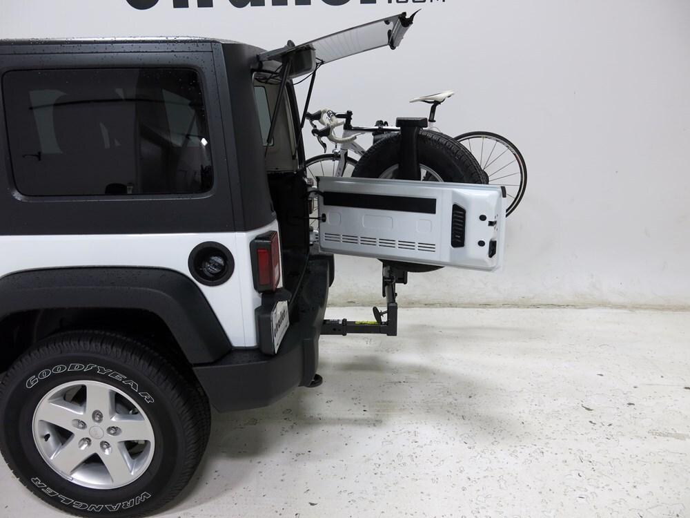 trailer hitch bike rack for jeep wrangler