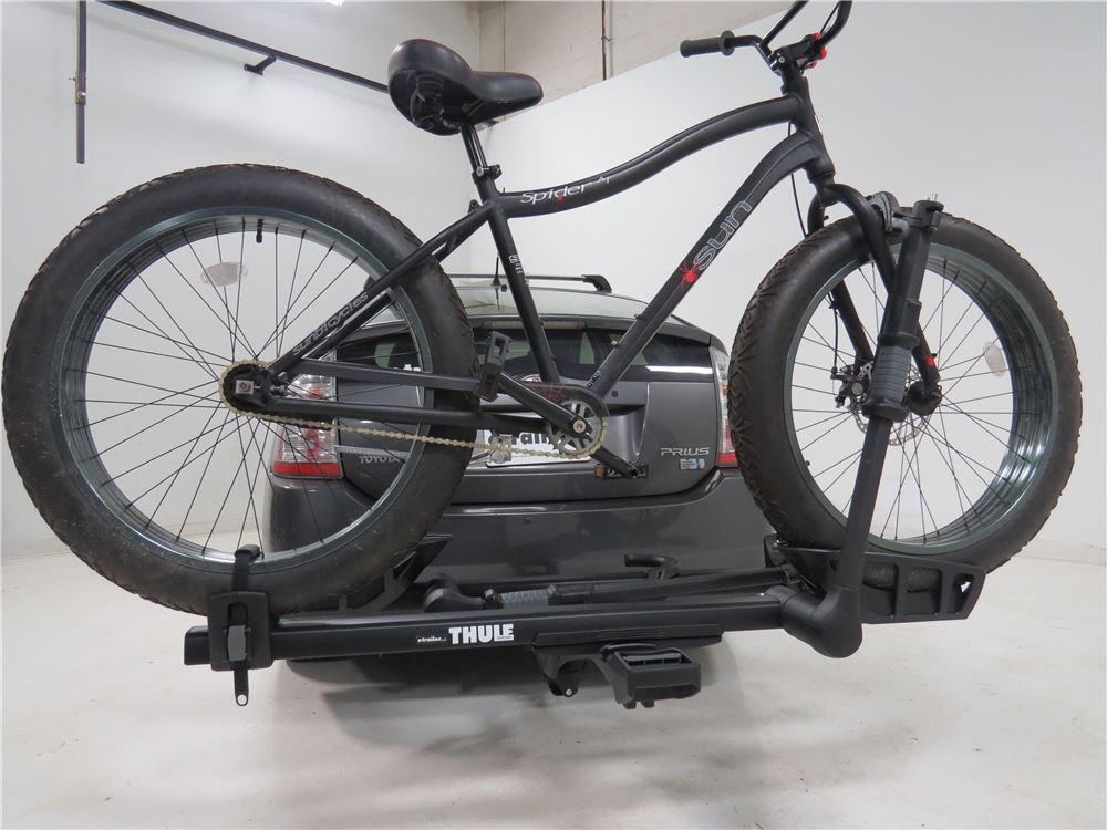 thule t2 pro xtb 2 bike platform rack 1 1 4 hitches tilting black thule hitch bike racks. Black Bedroom Furniture Sets. Home Design Ideas