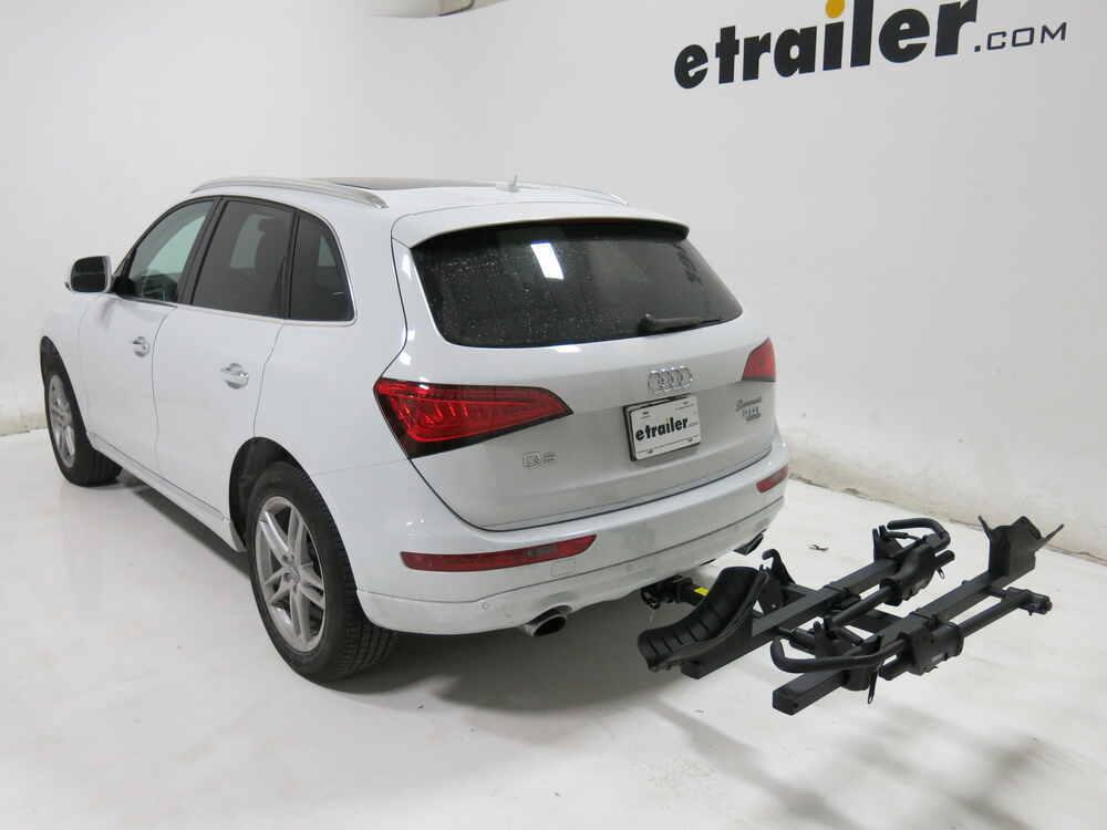 2013 Audi Q5 Thule T2 Classic 2 Bike Platform Rack 2