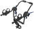 thule trunk bike racks fits most factory spoilers adjustable arms passage 2 carrier - mount