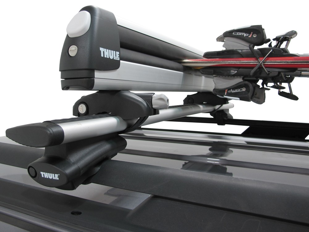 thule pull top slide out ski and snowboard carrier 6. Black Bedroom Furniture Sets. Home Design Ideas