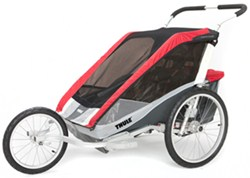 Thule Cougar Jogger and Stroller - 2 Child - Red