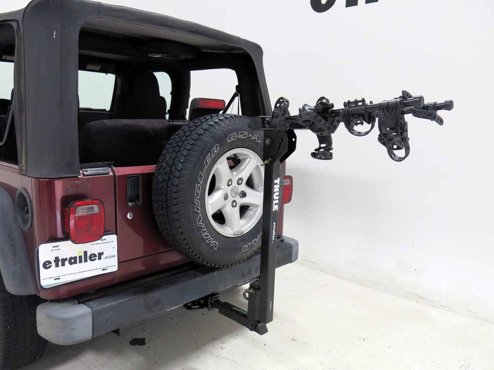 1990 jeep wrangler thule hitching post pro folding. Black Bedroom Furniture Sets. Home Design Ideas