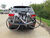 hitch bike racks thule hanging rack fits 2 inch parkway for hitches - tilting