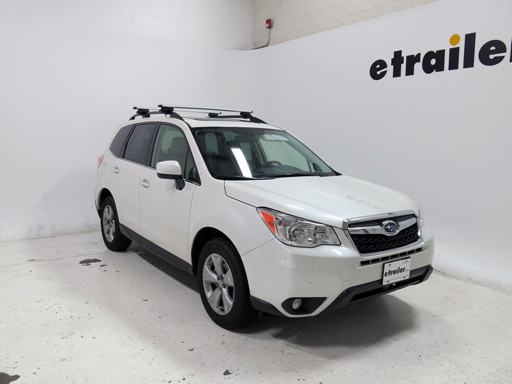 Thule Roof Rack For 2015 Forester By Subaru Etrailer Com