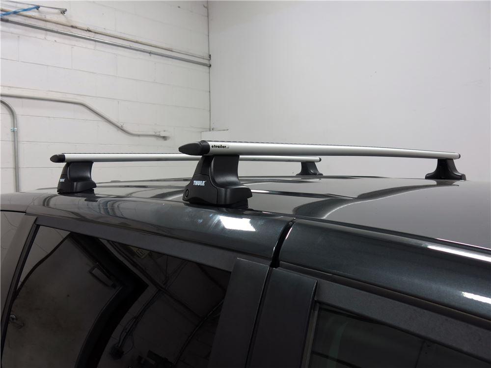 thule roof rack for 2012 grand caravan by dodge. Black Bedroom Furniture Sets. Home Design Ideas