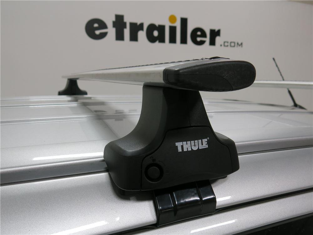Thule Roof Rack For Ford Edge 2014 Etrailer Com