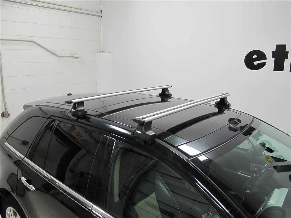 Thule Roof Rack For Lincoln Mkx 2011 Etrailer Com