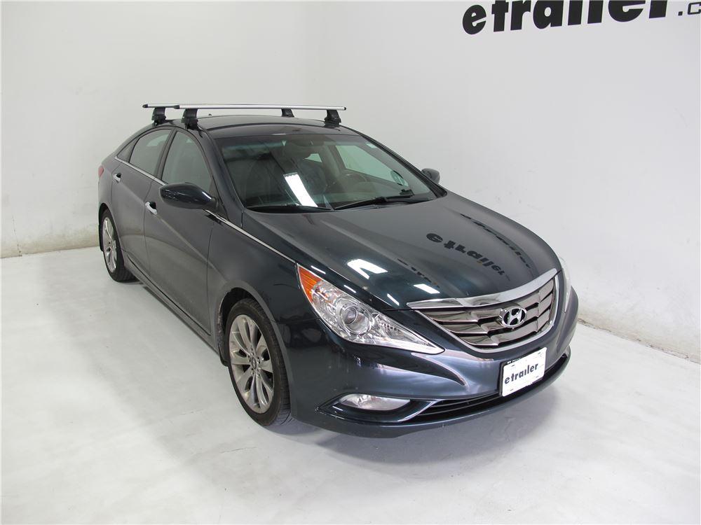 Thule Roof Rack For Hyundai Sonata 2011 Etrailer Com