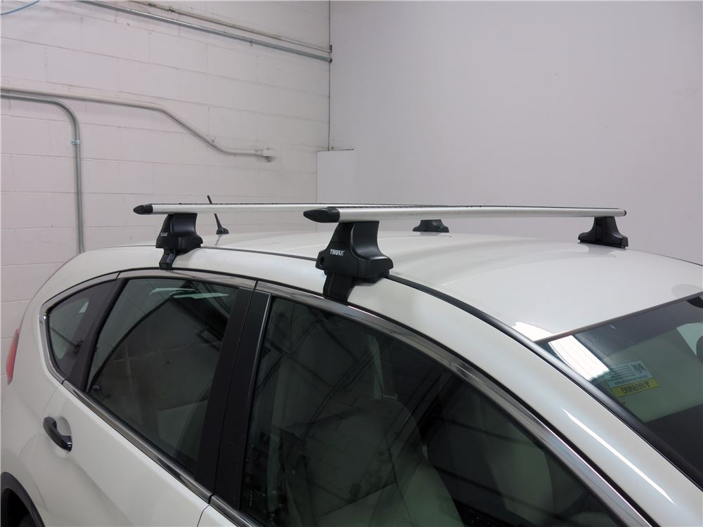 thule roof rack for 2015 cr v by honda. Black Bedroom Furniture Sets. Home Design Ideas