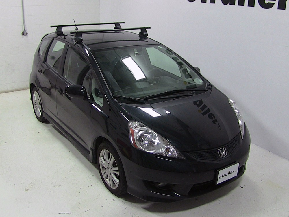 thule roof rack for 2015 fit by honda. Black Bedroom Furniture Sets. Home Design Ideas