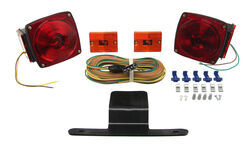 "Submersible, Under 80"" Trailer Light Kit with 25' Wiring Harness"