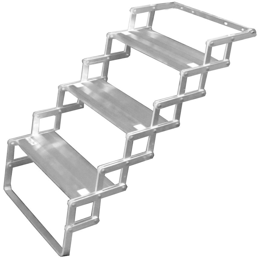 Steps For Rvs : Torklift glowstep camper scissor steps