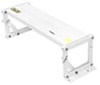 "TorkLift GlowStep Collapsible Step for Campers w/ Basement Storage - 6"" - 325 lbs - White"