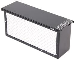 TorkLift PowerArmor Locking Battery Box - 6V and 12V Batteries - Diamond Plate Aluminum