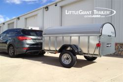 Let's Go Aero LittleGiant - Hardshell Enclosed Trailer - 7'