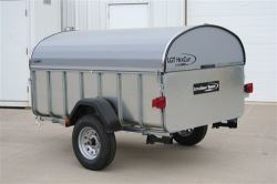 HexCap Hardshell Tonneau Cover for Let's Go Aero LittleGiant Trailers