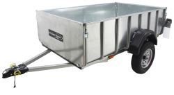Let's Go Aero LittleGiant - A-Frame Trailer - Galvanized Steel - 7' Long - 1,500 lbs