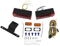 "Submersible, Over 80"" Aero Pro LED Trailer Light Kit w 25' Wiring Harness"